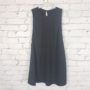 American Apparel Black Shift Dress